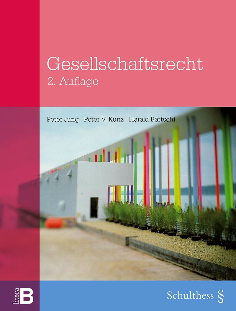 Gesellschaftsrecht Bärtschi (978-3-7255-7777-4)